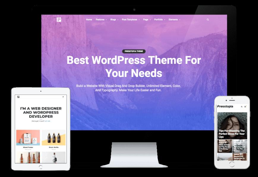 7 Theme WordPress Terbaik Untuk Bisnis Online Dan Bagaimana Cara Memilihnya (Update Juni 2020) 6